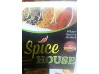 Running curry house business for sale