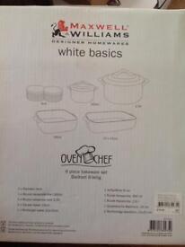 6 piece bakeware set ((Brand New))