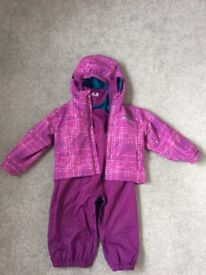 Dare2b winter jacket and trousers (2 years)