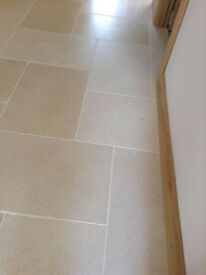 8 x large Jerusalem Limestone Tiles 60x40cm - Floor or Wall *NEW* - Bathroom Hall cloakroom