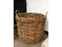 Very large wicker basket