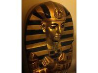 Egyptian tutankhamun sarcophagus life size DVD/CD unit