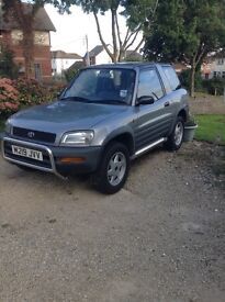 M Reg / Toyota RAV4 / Good condition / Two new front tyres and new front exhaust pipe