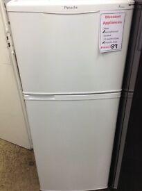 Panache fridge freezer. Small freezer on top.