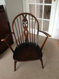 Ercol blue label low fireside chair