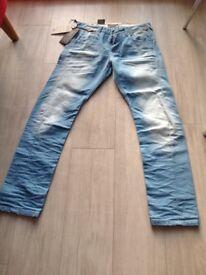 Jack & Jones Core faded Denim jeans, brand new with tags W:32 L:32,