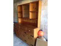 Beautiful Old Pine Dresser