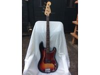 Fender Squire Made in Japan Precision Bass 1983-1984