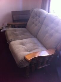 Oak framed sofas