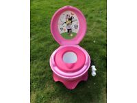 Minnie Mouse Potty with musical flush