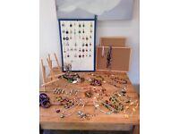Job lot of glass bead jewellery, retail worth £500