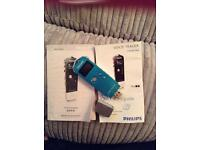 Philips voice tracer recorder dictaphone usb flash drive with microphone socket and external mic