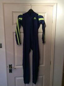 """Adidas running/cycling suit , GB size 30"""" worn once."""