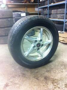 225 60 16 set of 4 with aluminium rims