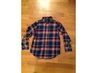 RALPH LAUREN POLO CHECK SHIRT