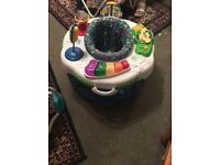 Learn and groove activity station
