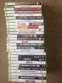 Xbox 360 games any 3 games £10