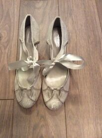 Wedding shoes - brand new with labels & packaging.