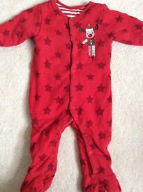 Mothercare Walk in sleeper baby gro 2.5 togs 6-9 months