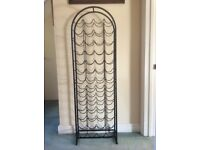 Black Wine Rack for sale