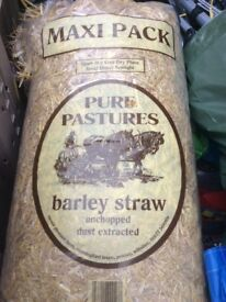 1 bag Barley straw for pet cages