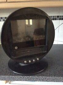 Art Deco style fan heater