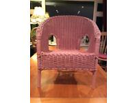 Gorgeous Wicker Childs Chair, make a lovely Christmas present 🎁
