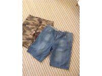Mens 2 pairs shorts