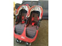City mini double buggy - Excellent condition