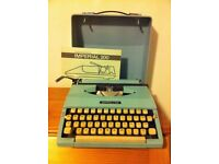 Typewriter - retro portable manual Imperial 200