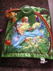 Fisher Price Rainforest Music and Lights Gym