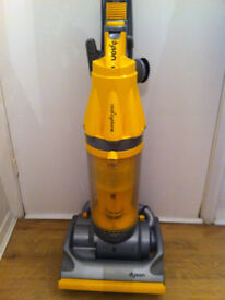 dyson dc07 hoover with 3 tools