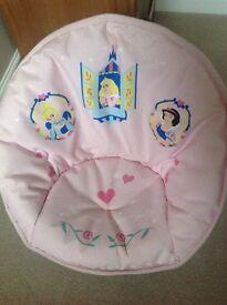 Disney Princess Foldable Padded Moon Chair