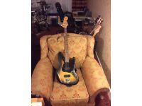 """Fender """"modern player"""" Jazz bass."""