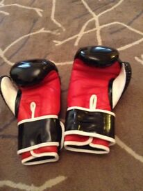 Boxing gloves size small