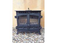 Wood burner - Hunter Herald slimline multi fuel