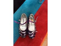 New girls party shoes - size 1