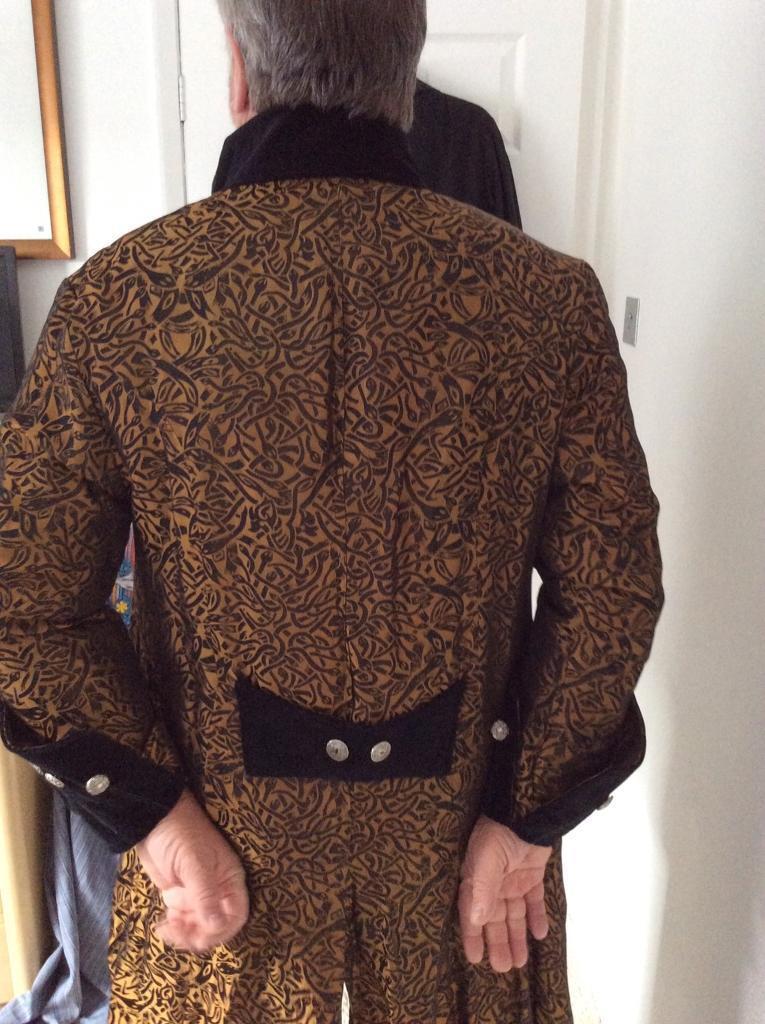Gothic frock coat size L