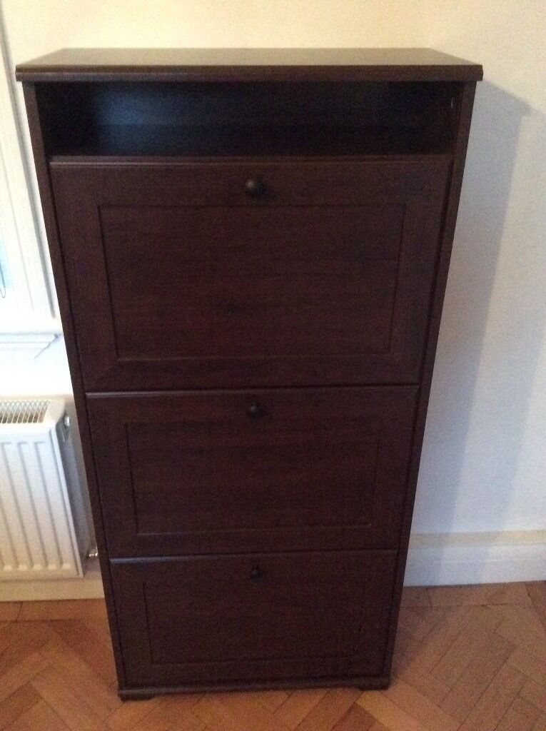 ikea brusali shoe cabinet two for sale in walsall