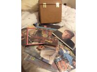 Excellent collection of 39 vinyl LPs kept in plastic sleeves and in case. Case included