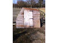 Potting Shed, dismantled - 10ft x 8ft Single with full length slatted shelf