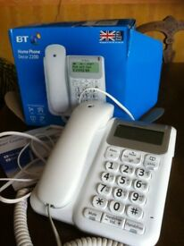 BT Home Phone Decor 2200 Large buttons