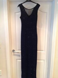 Navy Lipsy formal dress -.Size 8/10.