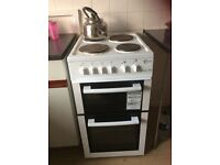 Nearly new , Bought 27/12/14 Flavel MLB5SDW Electric cooker