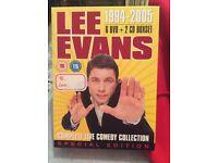 Lee Evans 1994 - 2005 DVD boxset