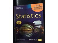 Statistics S1 A level Mathematics book