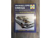 Vauxhall omega 1994-99 Haynes manual