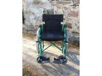 Enigma Superior Steel Self-Propelling Wheelchair in excellent condition