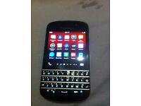 Blackberry Q10 working fine
