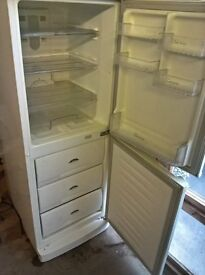 White fridge freezer.medium..Cheap free delivery